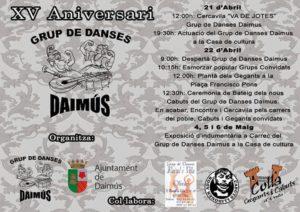 XV Aniversari Grup de Danses